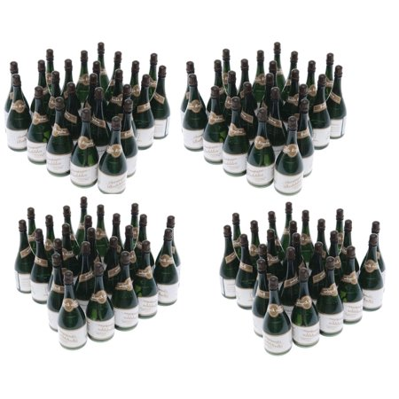 Happy New Year Champagne (96 - Champagne Bottles Wedding Bubbles New Years Eve Graduation Party Favors)