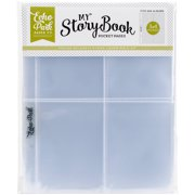 """My Storybook Album Pocket Pages, 6"""" x 8"""" 25pk, (2) 4"""" x 6"""" Openings"""