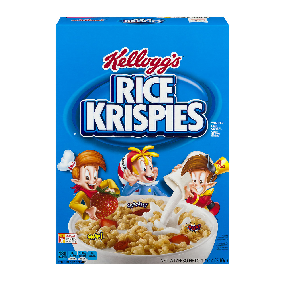 Kellogg's Rice Krispies Cereal, 12.0 OZ
