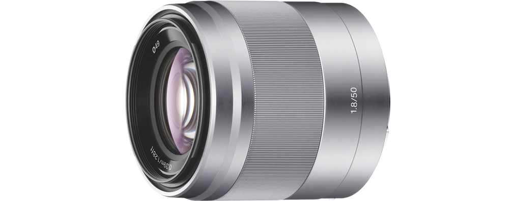 SEL50F18 S E 50mm F1.8 OSS E-mount Prime Lens by Sony