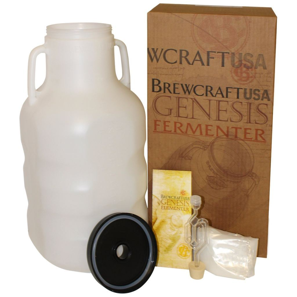 6.5 Gallon Genesis Variable Capacity Fermenter by BrewcraftUSA