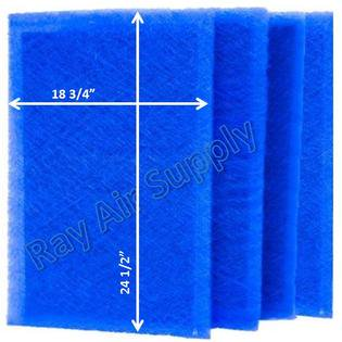 RayAir Supply RS2 1400 Dynamic Air Cleaner Replacement Filter Pads RS2