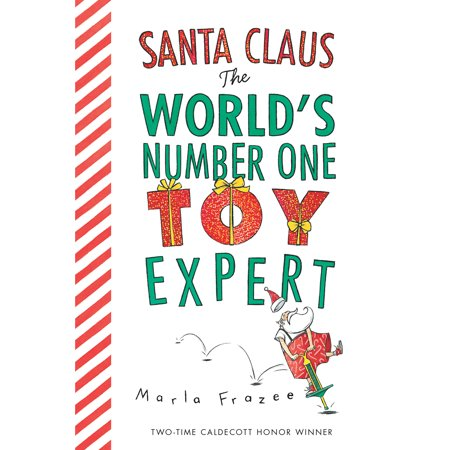 Santa Claus the Worlds Number 1 Toy Expe (Board Book) ()