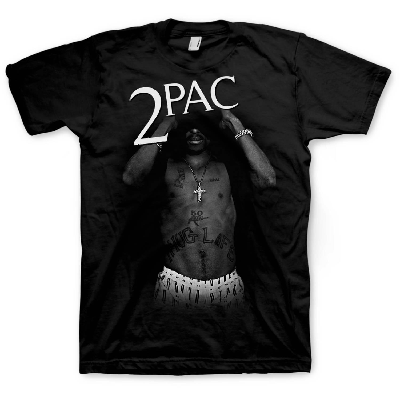 2 Pac Big Men's Graphic Tee, 2XL