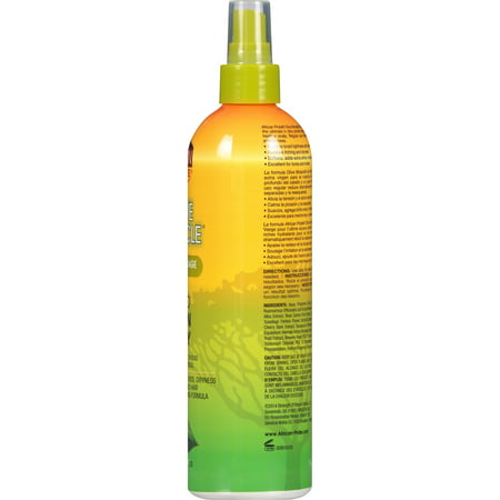 African Pride Olive Miracle Braid Sheen Spray 12 fl. oz. Spray