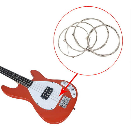 4-string Electric Bass Guitar String Set Nickel Round Wound High-carbon Steel Core(1.14-2.67) - image 3 of 7