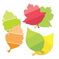 LEAVES 10IN DESIGNER CUT OUTS PAINT