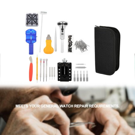 Changing Tool (Yosoo 16Pcs Watch Repair Tool Kit Band Changing Case Opener Spring Bar,Watch Repair Tool, Spring Bar)