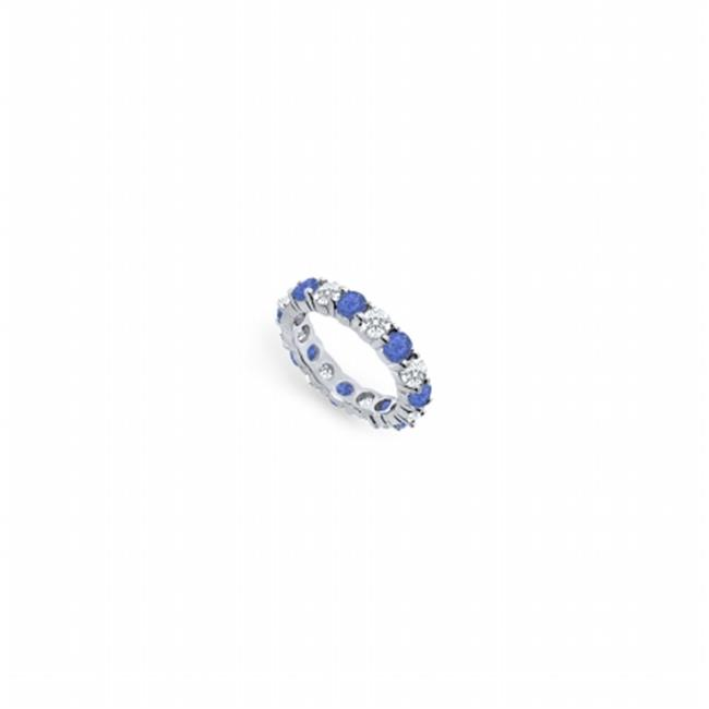 FineJewelryVault UBPTR400DS22620-101RS9 Diamond & Blue Sa...