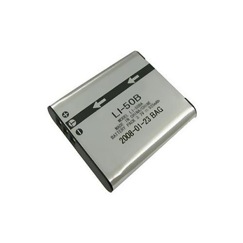 Olympus Stylus Tough 8010 Battery Replacement for Olympus LI-50B Digital Camera Battery 1000mAh, 3.7V, Lithium-Ion