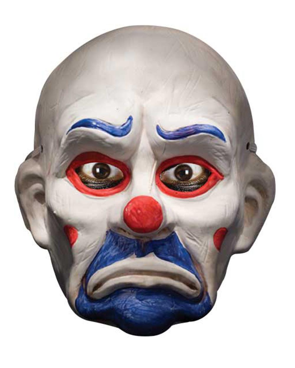 Batman Dark Knight Deluxe Joker Clown Mask Adult Halloween ...