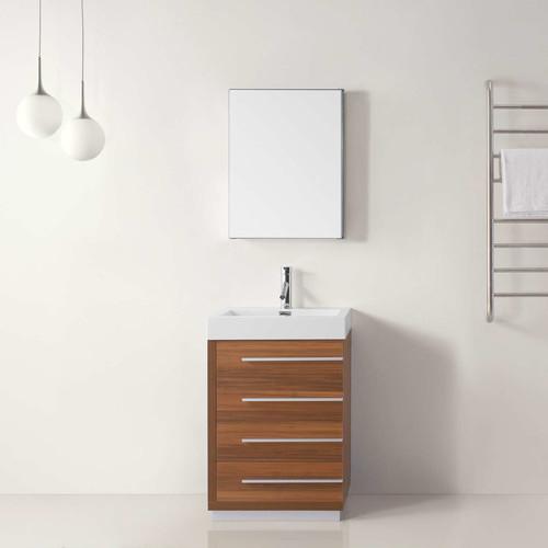 Virtu Bailey 22'' Single Bathroom Vanity Set with Mirror