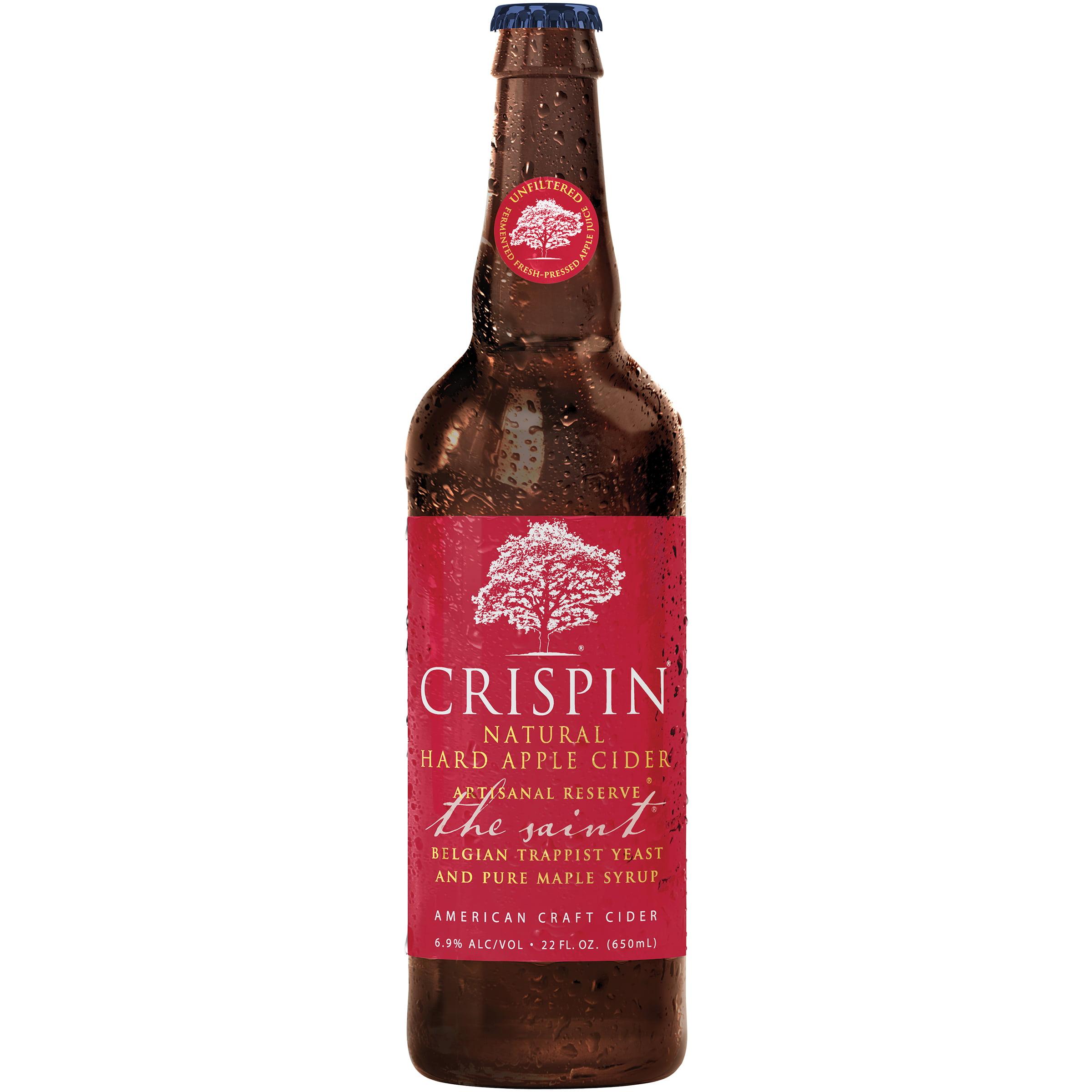 Crispin Cider Co Crispin � Artisanal Reserve � The Saint Hard Apple Cider 22 Fl. Oz. Glass Bottle