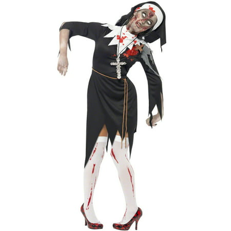 Zombie Bloody Sister Mary Adult Costume (Bloody Mary Halloween Web)