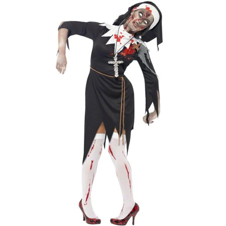 Zombie Bloody Sister Mary Adult - Gross Sisters Halloween