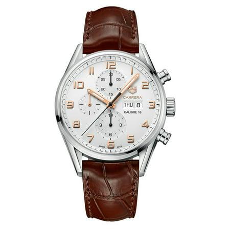 Tag Heuer Carrera Calibre 16 Automatic Chronograph 43mm Mens Watch
