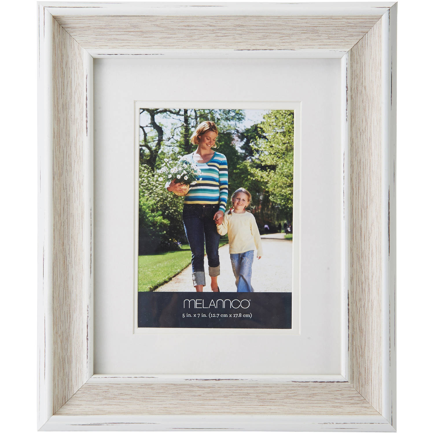 Melannco Double Matted Picture Frame
