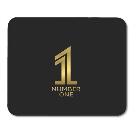 KDAGR Gold Award Number One Best Champion Emblem First Place Golden Mousepad Mouse Pad Mouse Mat 9x10 (Best Mouse For Starcraft 2)