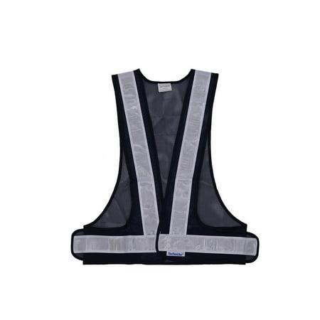 SFVest High Visibility Reflective Vest Reflective Safety Strap Vests W