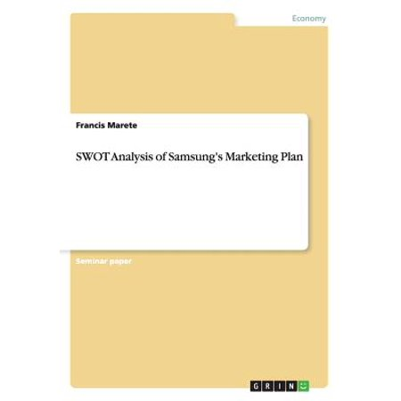 Swot Analysis of Samsung's Marketing Plan