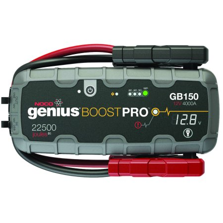 NOCO Genius Boost Pro GB150 4,000 Amp 12V UltraSafe Lithium Jump (Lithium Ion Jump Starter And Power Pack Viking)