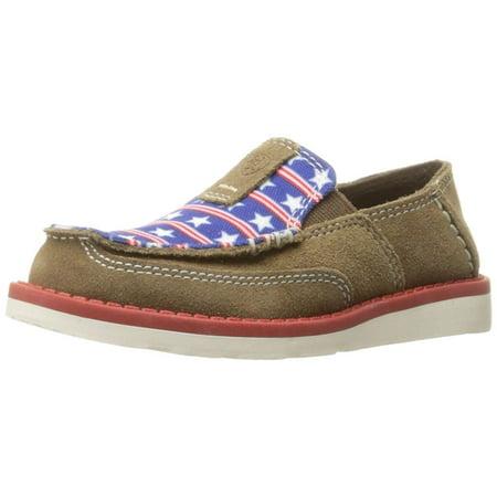 3bcbc405e1f Ariat Kids' Cruiser Slip-on Shoe, Dirty Tan Suede, 1 M US Little Kid