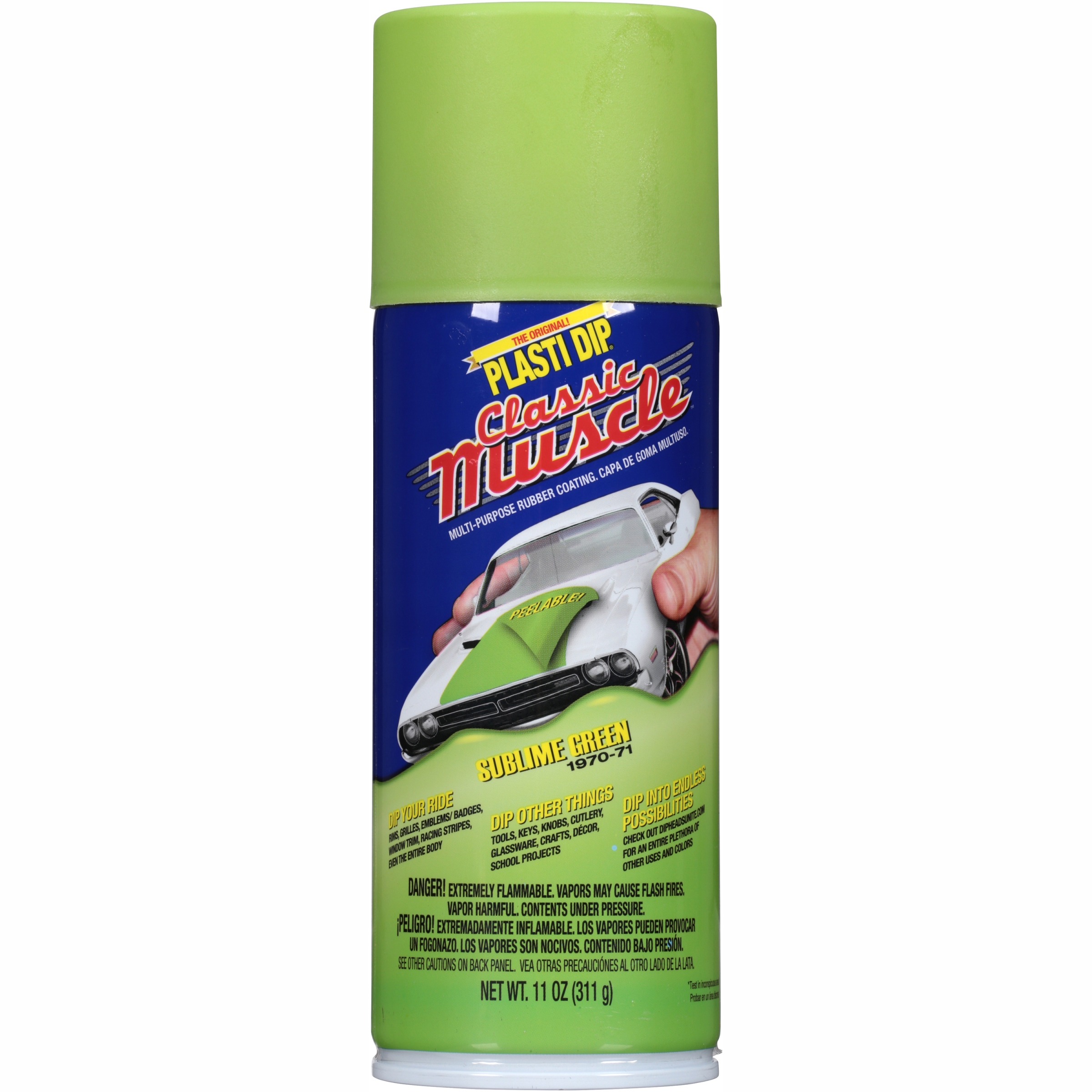 Plasti Dip® Classic Muscle™ Sublime Green Multi-Purpose Rubber Coating Spray 11 oz. Can