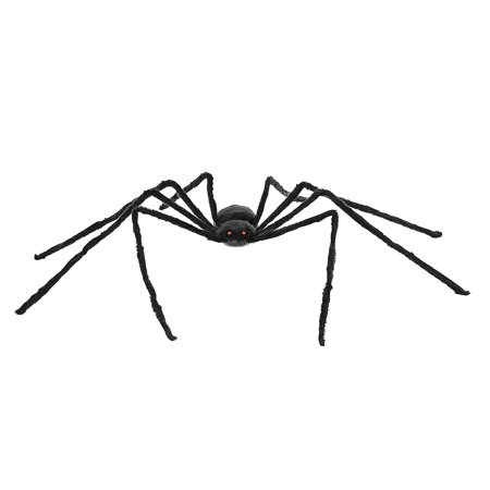 4FT Electric Giant Spider Halloween Decoration Haunted