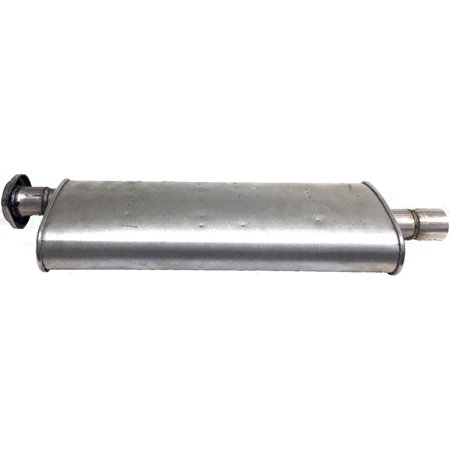 Davico 390466 Muffler For Jeep Grand Cherokee, Natural OE Replacement, Center ()