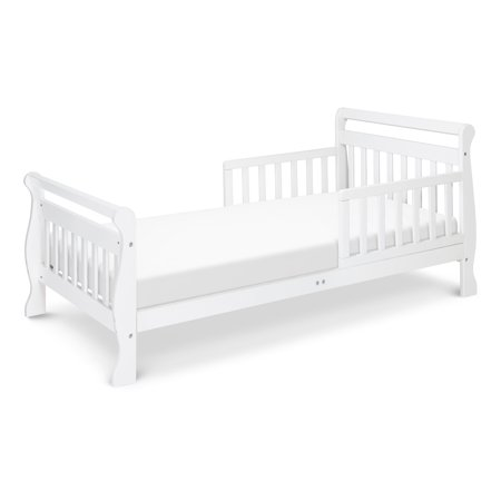 DaVinci Sleigh Toddler Bed, Multiple Finishes, With Bed Rails (Fashion Bed Sleigh Bed)