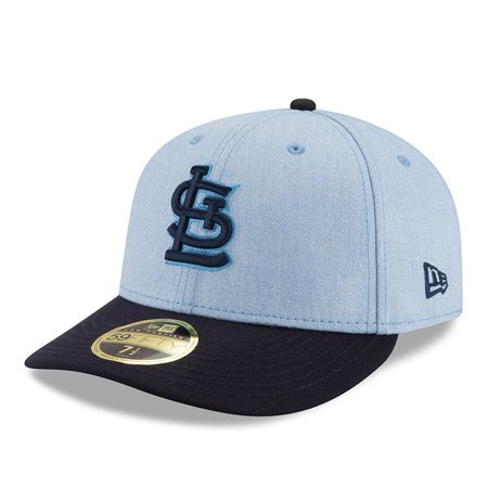 St. Louis Cardinals New Era 2018 Father s Day On Field Low Profile 59FIFTY  Fitted Hat - Light Blue - Walmart.com 9a87b54554d