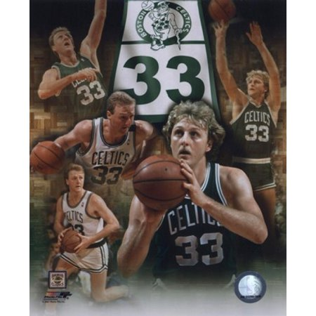 Larry Bird - Legends Of The Game Composite Sports Photo
