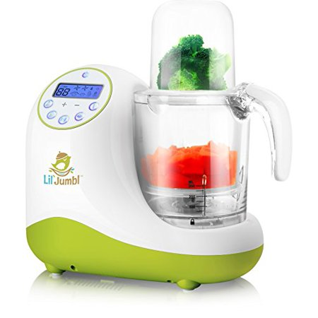 Lil Jumbl Mealpro All In One Baby Food Blender Steamer Reheater