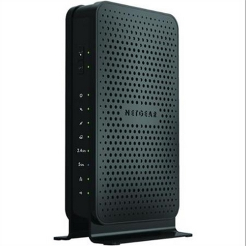 Refurbished NETGEAR N600 Wi-Fi DOCSIS 3.0 Cable Modem Router (C3700)