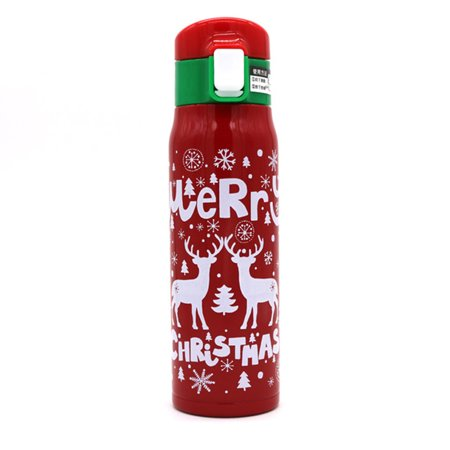 Jeobest Stainless Steel Water Bottle - Water Thermos Bottle - Vacuum Cup Thermos - 500ml Christmas Stainless Steel Thermos Bottle for Water Vacuum Flask for Tea Coffee Thermal Mug Insulated MZ Stainless Steel Water Bottle - Water Thermos Bottle - Vacuum Cup Thermos - 500ml Christmas Stainless Steel Thermos Bottle for Water Vacuum Flask for Tea Coffee Thermal Mug Insulated