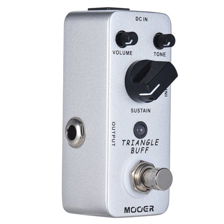 MOOER TRIANGLE BUFF Fuzz Guitar Effect Pedal True Bypass Full Metal Shell - image 1 de 7