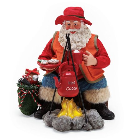 - Possible Dreams Sports and Leisure 6000803 Base Camp Clothtique Santa