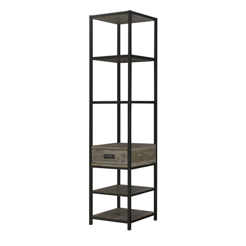Union Rustic Winooski Pier Etagere Bookcase by