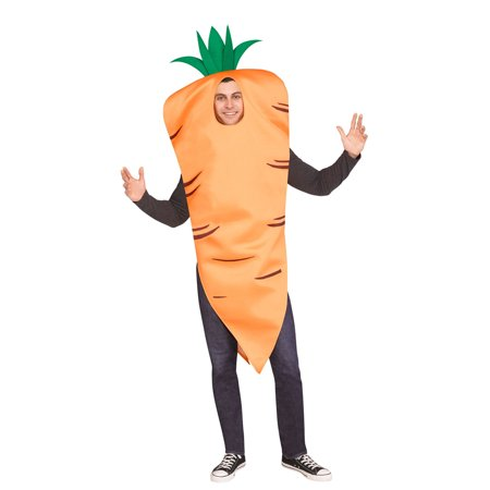 Adult Carrot Costume size Standard - Carrot Top Costume