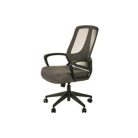 Alera 5000 Series - Alera MB Series Mesh Mid-Back Office Chair, Gray/Black