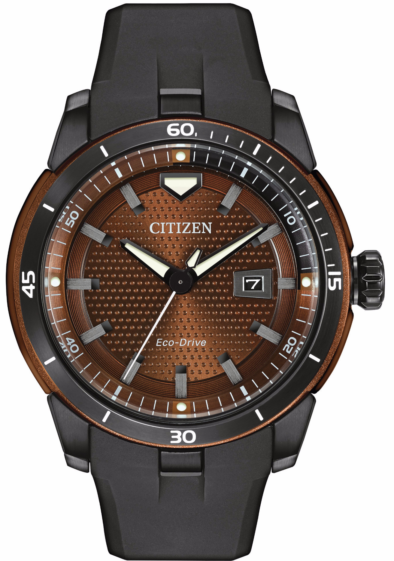 Citizen Men's Eco Drive Stainless Steel 100M Water Resistant Watch