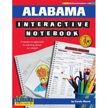 Alabama State Coin - Alabama Interactive Notebook : A Hands-On Approach to Learning about Our State!