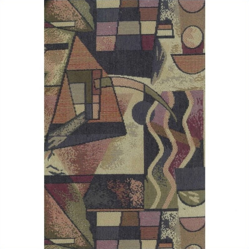 Blazing Needles S/5 Tapestry Futon Cover Package in Picasso