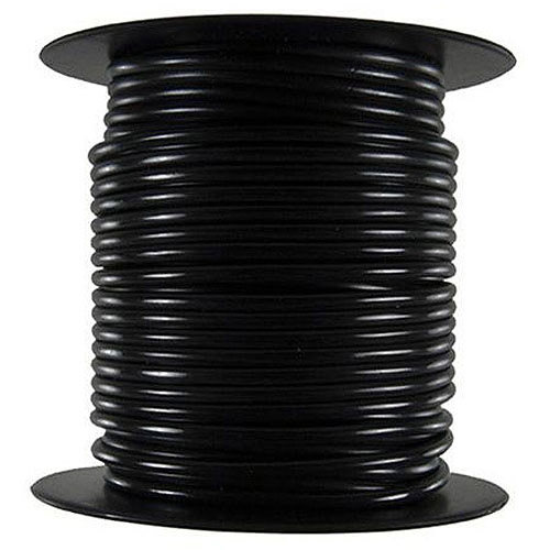 JT&T Products 160C 16 AWG Black Primary Wire, 100' Spool