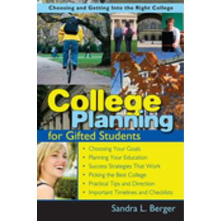 College Planning for Gifted Students - eBook (Halloween Packages For College Students)