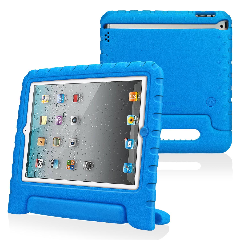 Fintie Apple iPad 2/ iPad 3/ iPad 4 Kiddie Case - Ultra Lightweight Shock Proof Kids Friendly Cover, Blue