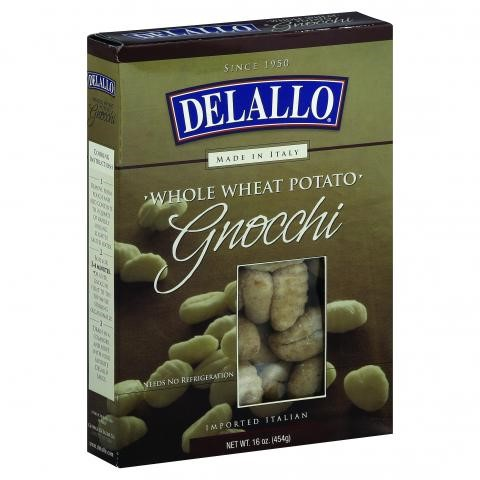 Delallo Whole Wheat Potato Gnocchi, 16 Oz
