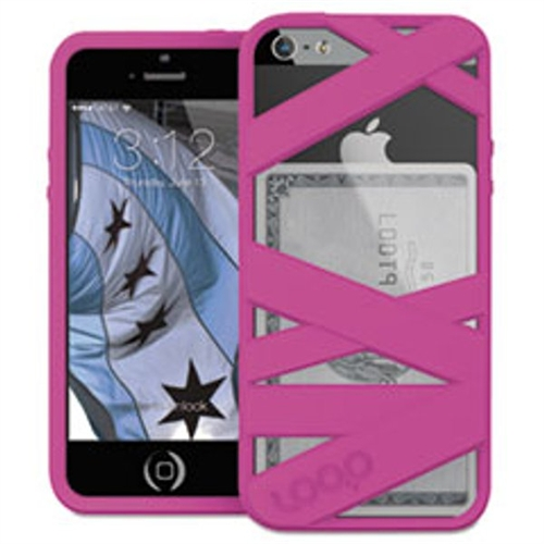 Loop Attachment Mummy Case for iPhone 5/5S, Magenta LOOP3MGNT