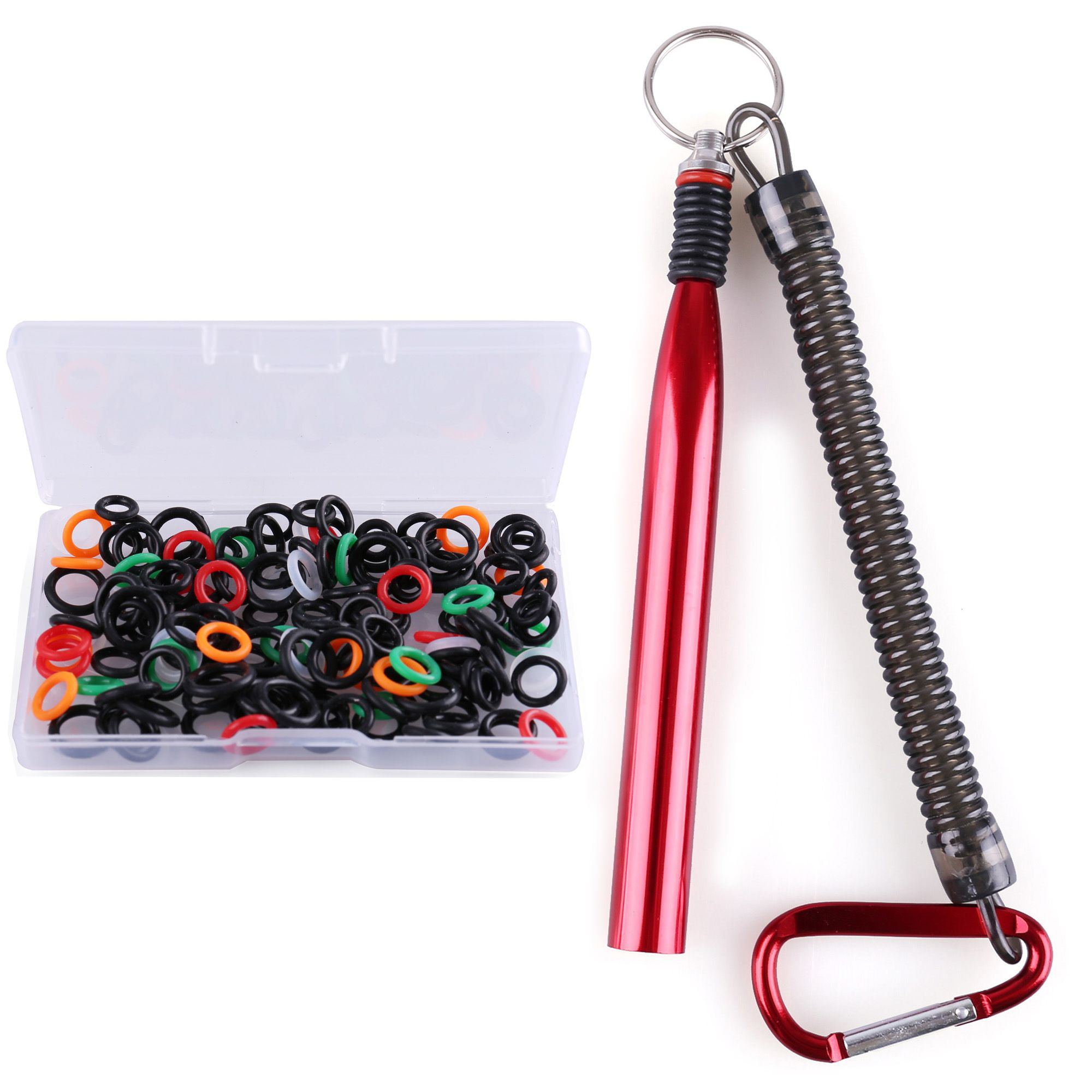 Wacky Worm Tool Wacky Rigging Plastic Senko Style Worm with 100PCS O-Ring NEW