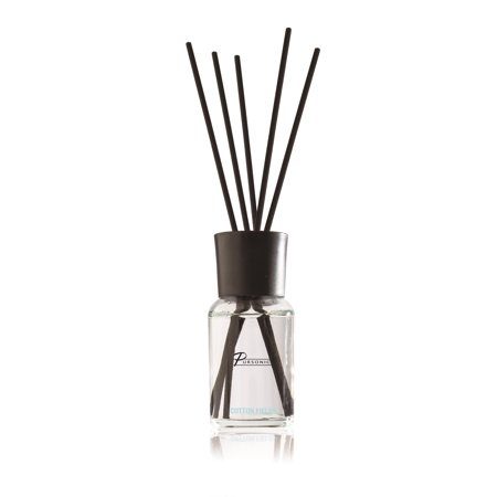 Pursonic Fragrances Reed Diffuser, Cotton Fields, 1.7